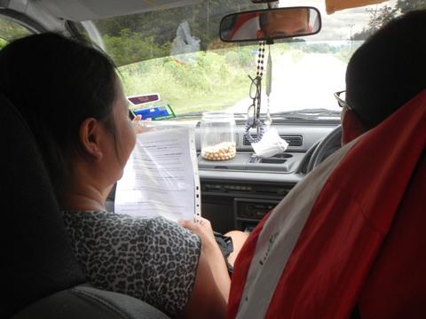 Travelling into Kuching