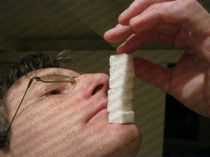 World record-breaking sugar cube balancing as a stack